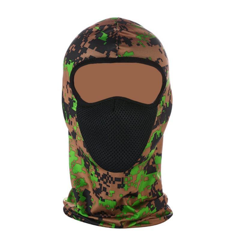 حماية الهواء الطلق بالاكلافا كامل الوجه قناع رقيقة جدا تنفس Windpro وقاية من الشمس القبعات الدراجات قناع الوجه الرقبة تزلج