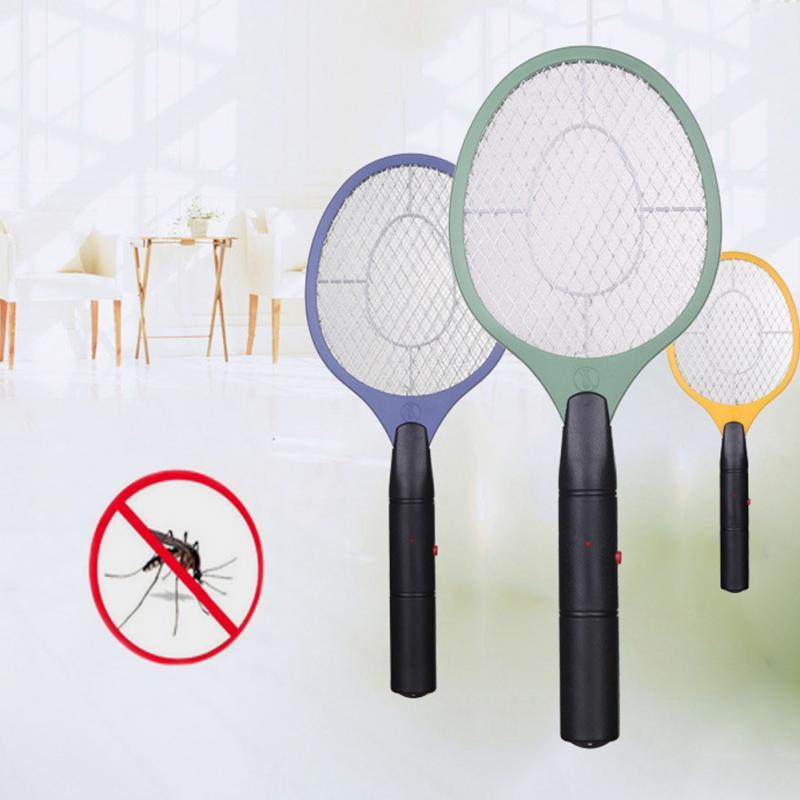 1pcs électrique Mosquito Swatter Anti Mosquito Fly Repellent Bug Insect Repeller jardin Handheld Racket