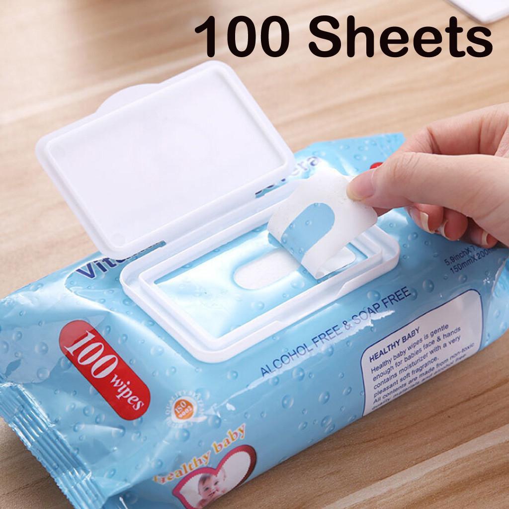 La vitamine E-100 serviettes propre et humide Soins infirmiers Tissue Nettoyage Protection non-tissé tissus Antiseptique Désinfection Tapis Portable Tiss
