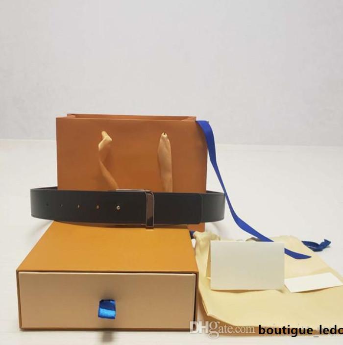 뜨거운 패션 스타일 럭셔리 벨트 디자이너 벨트 탑 패션 럭셔리 편지 버클 3.8 cm 와이드 부티크 벨트 선물 상자
