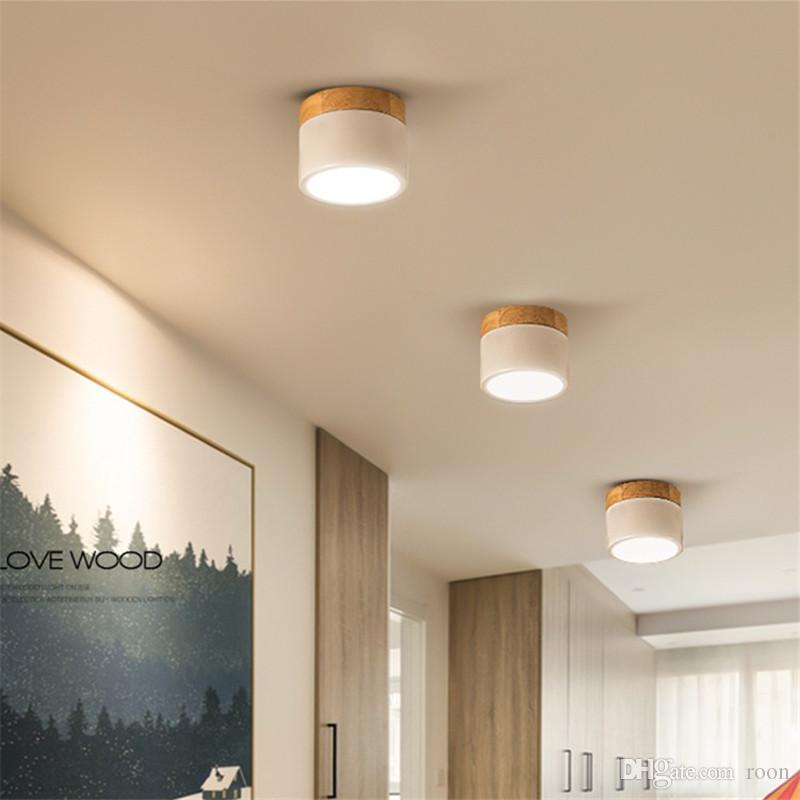 Светодиодный потолочный светильник Цилиндрический потолочный светильник Потолочные светильники Cylinder 5W 7W 12W для спальни, гостиной, кабинета, офиса, магазина, студии - I199