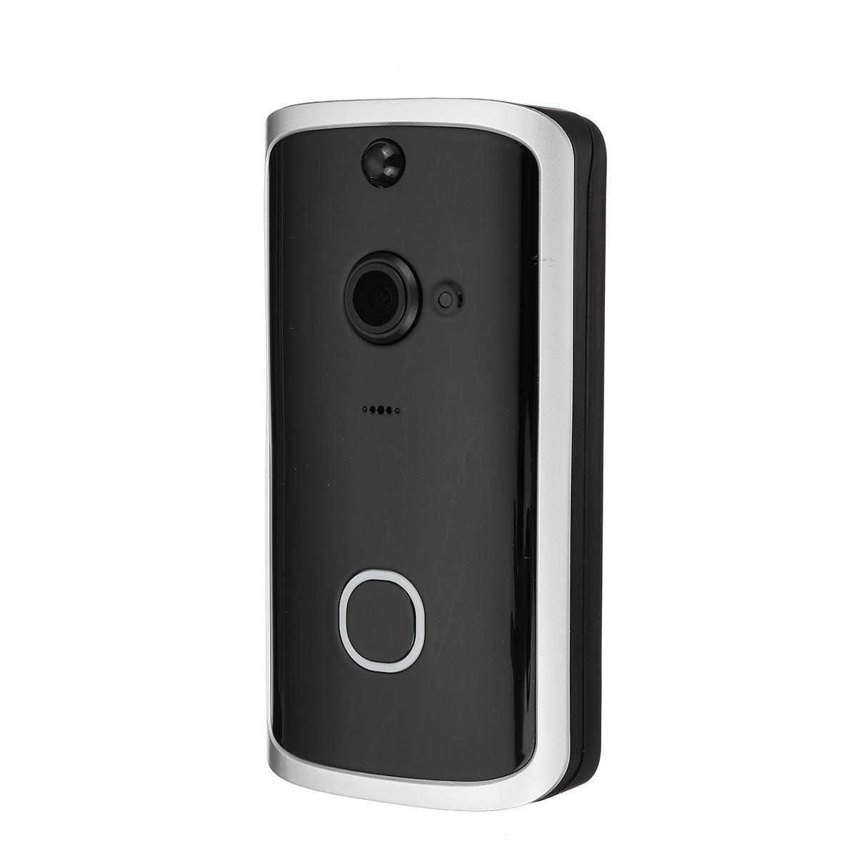LED de la cámara de vídeo de dos vías Talk Seguridad para el Hogar inteligente inalámbrica WiFi IR timbre de la puerta