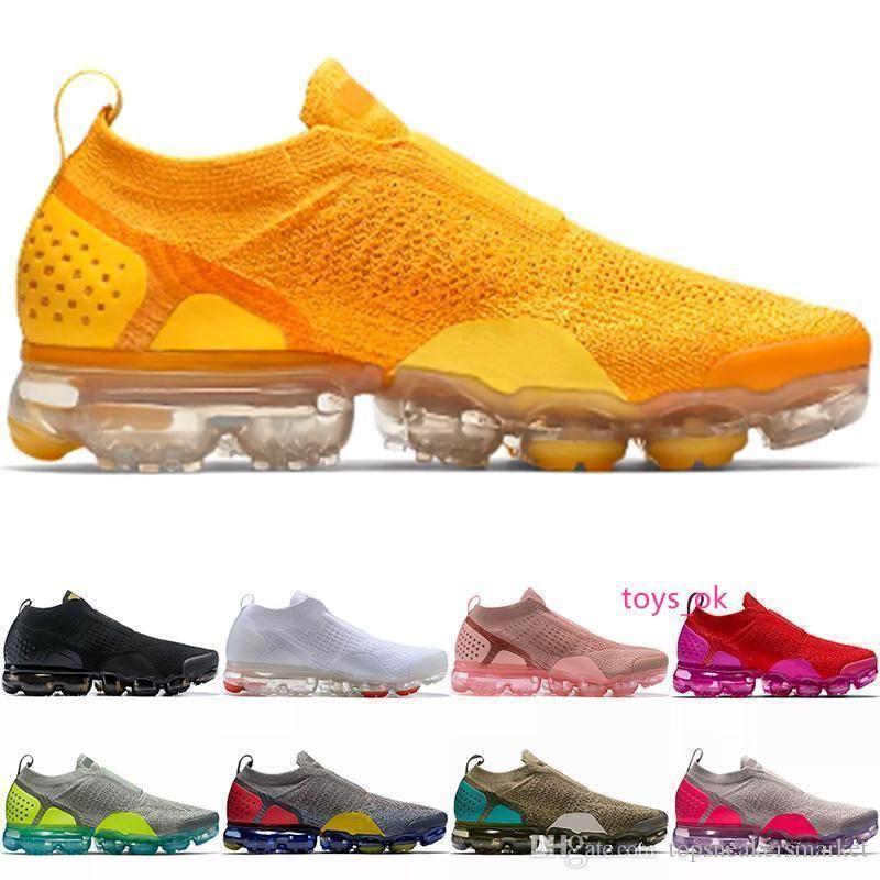 2.0 Moc Running Shoes Homens Mulheres Triplo Preto da Universidade Branco Espírito Red Wheat rosa Treinador Desportivo Sneaker Size 36-45 frete grátis
