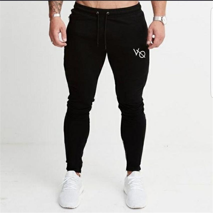 Gimnasios de verano Hombres Pantalones Pantalones Hombres VO Pantalones Casuales Swears's Sweypants 2018 Joggers Fitness Pants Black