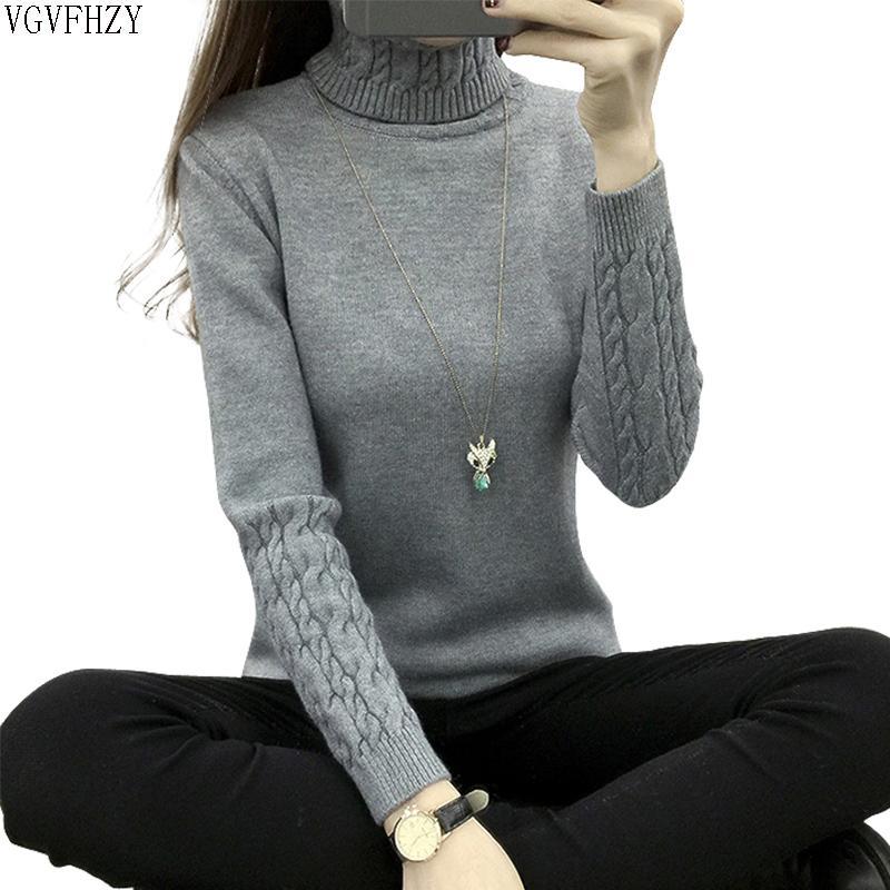 Pullover Frau 2019 Herbst Winter Kaschmir Strick Frauen Pullover Und Pullover Weibliche Trikot Jersey Jumper Pull Femme