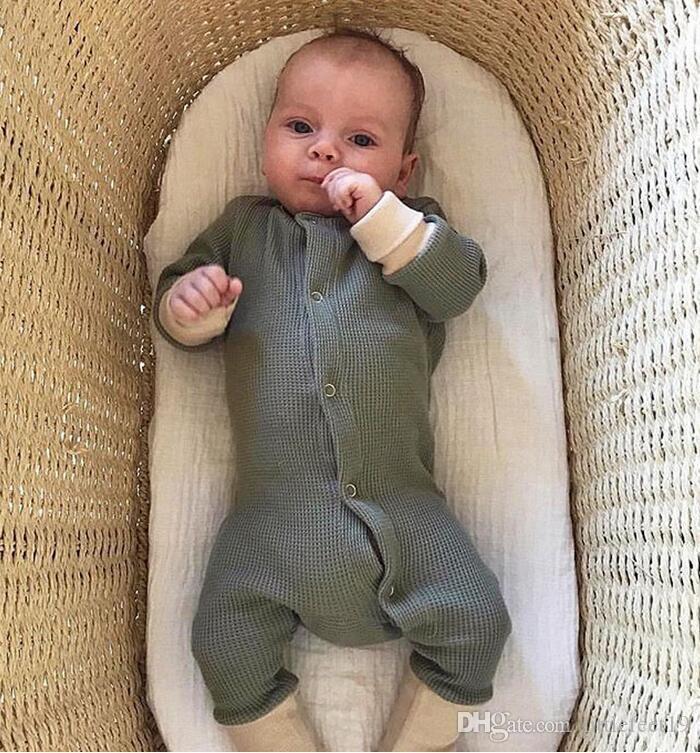 Baby Baby neugeborene Mädchen Designerkleidung Kinder Designer-Kleidung Junge neugeborenes Baby Kleidung Frühling und Herbst Kinder einteilige Kleidung