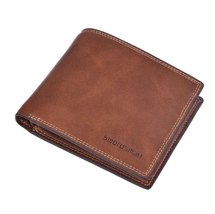 New Brand Walet Pocket Man Fashion Holder Mini card Holder Scheda di alta qualità Breve borse Slim Mens QGDBB