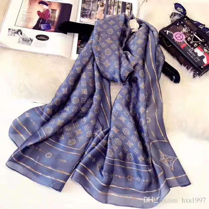 2020 nuevos Mens del lujo de las mujeres de la bufanda de la cachemira marca de diseño clásico de la bufanda del algodón 180x90cm caliente suave mantón de la manera bufandas