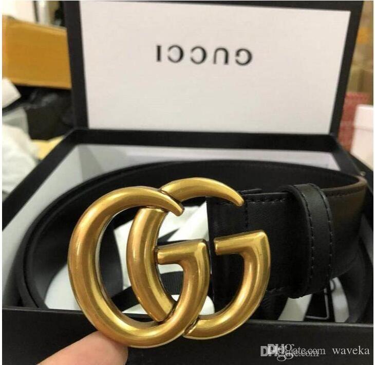 2020 Gürtel Designer Gürtel Herren Gürtel Designer Gürtel Snake Luxus-Gurt-Leder Geschäfts Gürtel Womens große Goldschnalle c4