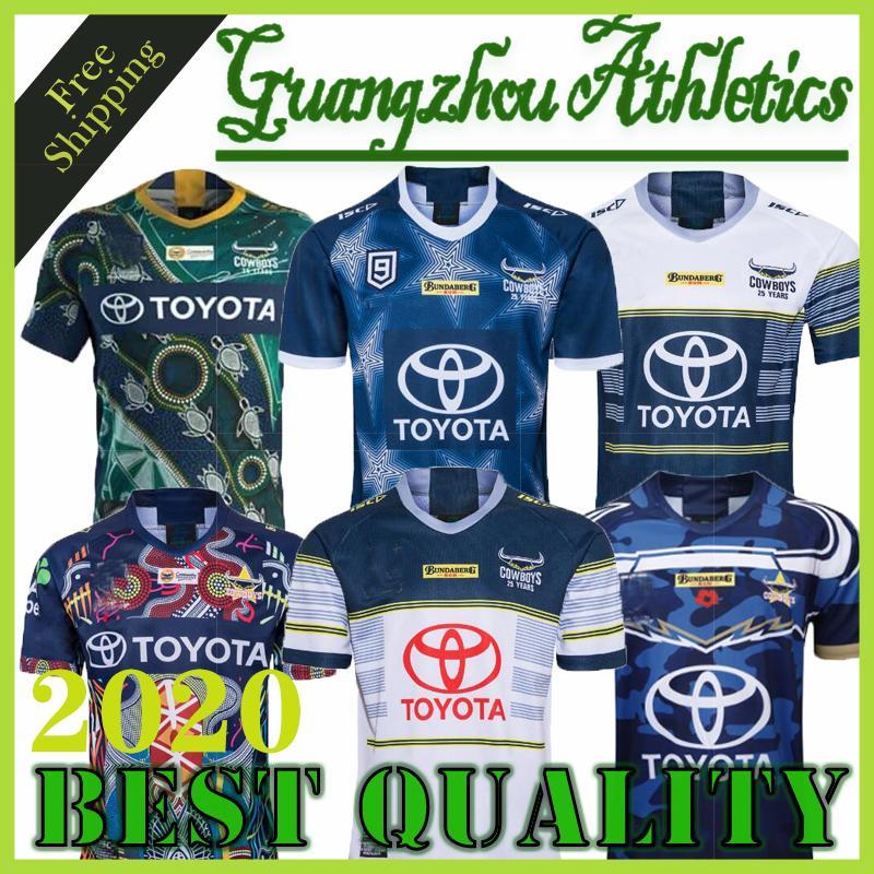2018 2019 2020 2021 vaqueros de 25 años de recuerdos edición de rugby jerseys NRL Rugby League camiseta del vaquero 19 20 21 camisas S-3XL