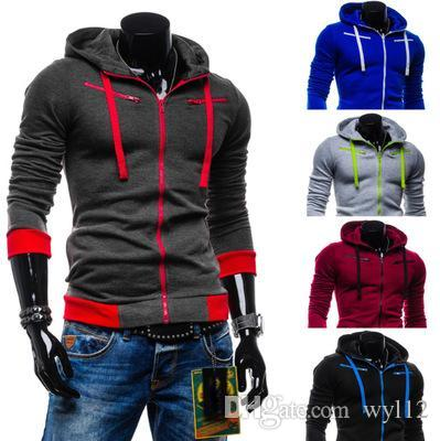 Brand Sweatshirt Hoodie Men Women Jacket Coat Long Sleeve With Logo Autumn Sports Zipper Windcheater Designer Mens Clothes Plus Size Hoodie