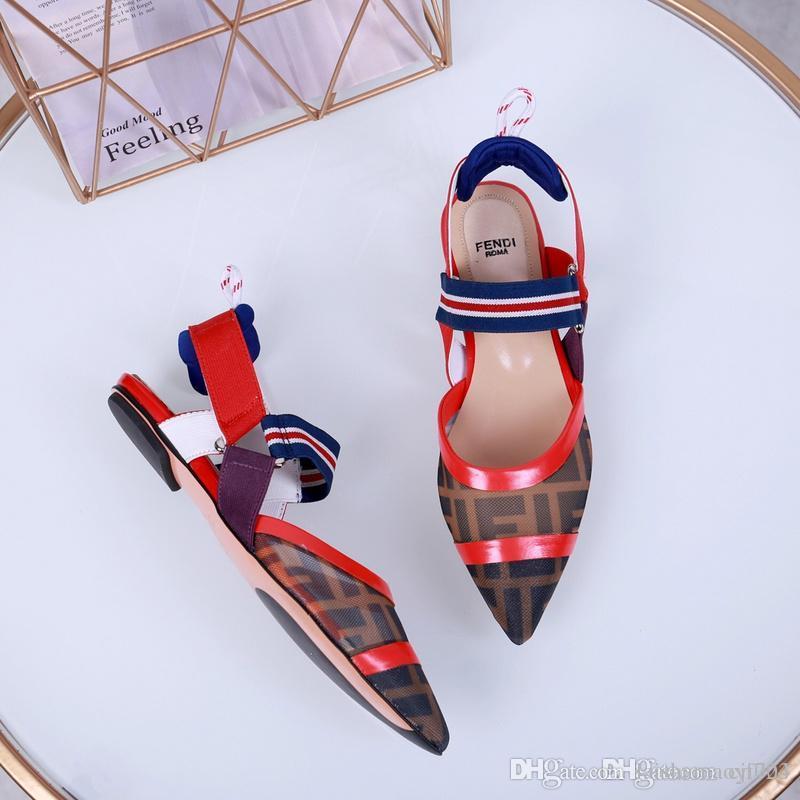 Kutu ile Womens Yaz Stil Yüksek Topuklu Ince Toka Askı Parti Akşam Ayakkabı Ucuz Mütevazı Artı Boyutu Custom Made Sandalet