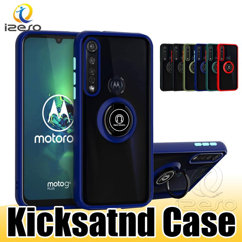 Cases for iPhone 13 12 Pro Max 11 XR 8 Plus Moto G9 Power Kickstand Hybrid Armor Mobile Phone Case Cover izeso