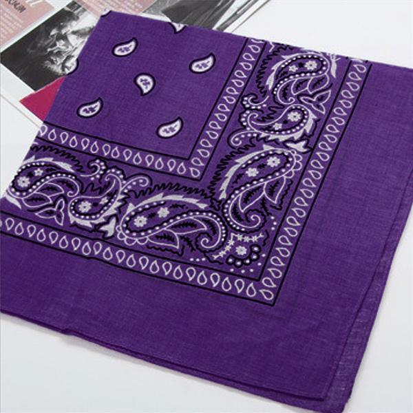 Cheap Vintage Square Handkerchief Geometric Print Cotton Head Wrap Neck Scarf Wristband Handkerchief Pocket Towel
