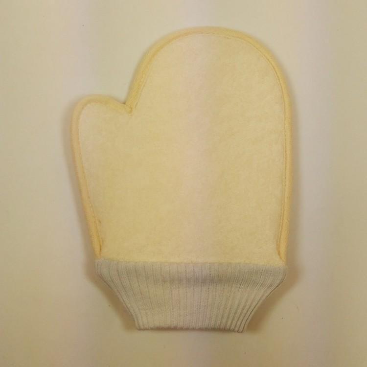 Atacado- Bath Shower Luvas Scrubber Voltar Scrub Esfoliante Massagem Corporal esponja de banho S10DI5