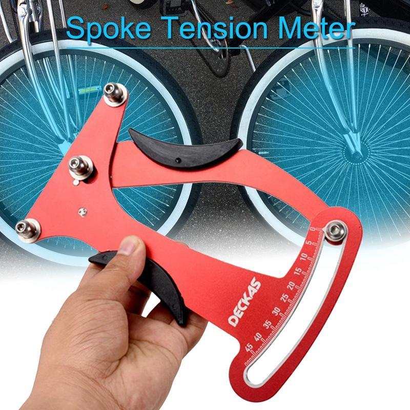 자전거 바퀴 자전거 스포크 텐션 미터 표시 장력 계 미터 Attrezi 빌더 도구