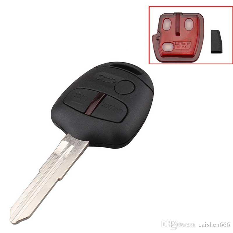 Кнопка дистанционного брелока для автомобиля для Outlander ASX 2006-2015 433,92 МГц ID46 Чип MIT11 Blade