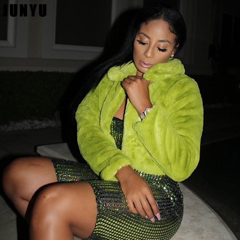 여성 모피 가짜 S-2XL 밍크 코트 여성 가을 겨울 탑 패션 핑크 코트 우아한 두꺼운 따뜻한 겉옷 가짜 자켓 Chaquetas Mujer