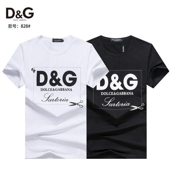 Sommer 2020 Herren-Mode lässig T-Shirt aus reiner Baumwolle mit kurzen Ärmeln, Männern und Frauen asiatische Größe 77726