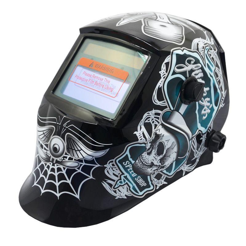 Solar Auto Escurecimento Welding Helmet ARC TIG MIG Weld Para Welder Lens Grinding Máscara frete grátis