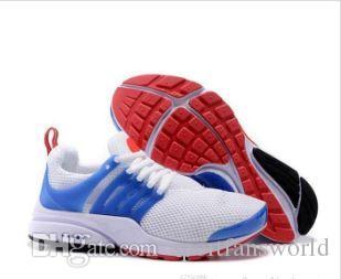 2019 Nuevo Presto hombre mujer transpirable zapatos para correr triple negro blanco amarillo rojo azul ligeros corredores para hombre entrenadores deportivos zapatillas de deporte