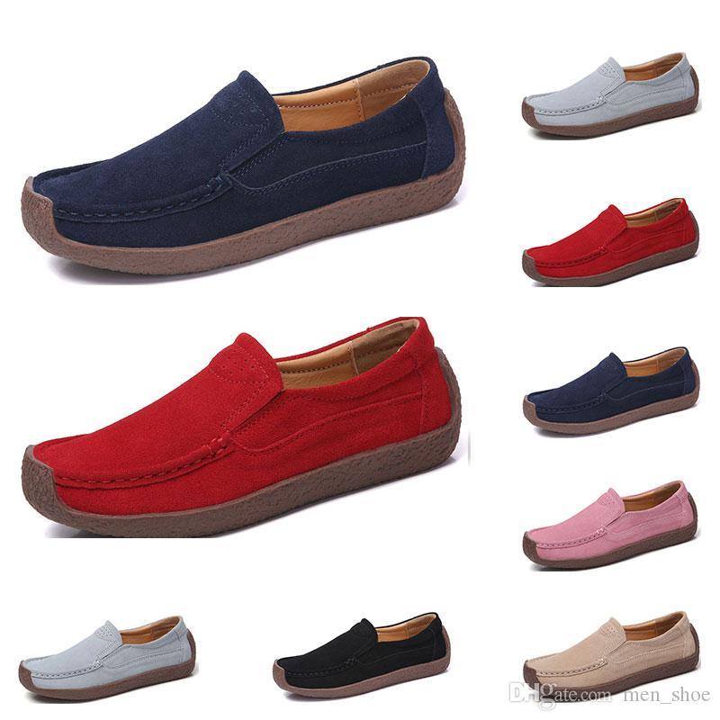 Neue Art und Weise 35-42 Eur neuen Überschuhe Süßigkeit färbt Leder Schuhe der Frauen britische Freizeitschuhe freies Verschiffen Espadrilles #twenty sieben