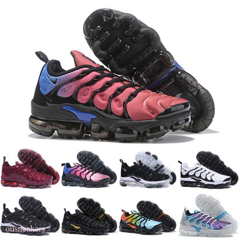 TN Inoltre geometrica attivo Fucsia Nero Mens pattini correnti delle donne di griglia Stampa limone Bumblebee gioco reali allenatori sportivi Sneakers 36-45