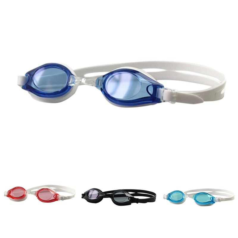 Imperméable Lunettes de natation Femmes Hommes Electroplated Len anti-poussière anti-brouillard adultes Anti-UV Lunettes