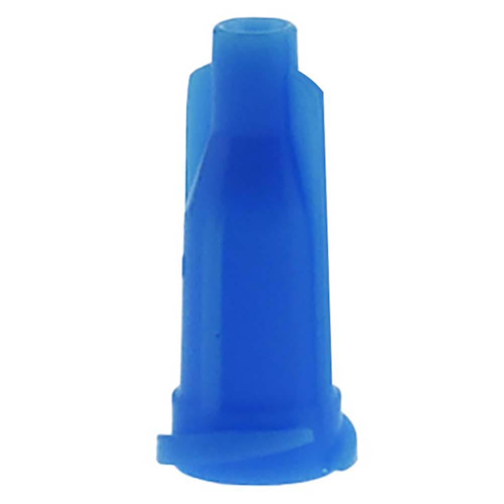 Glue dispensing syringe tip light blue cap Luer Lock 1000 PCS/lot
