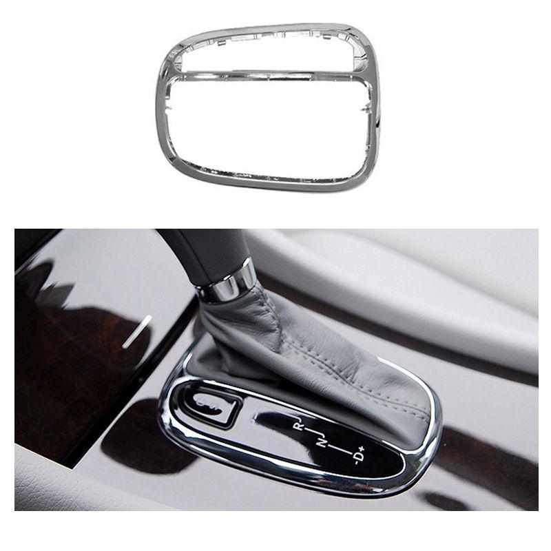 Sıcak Satış ABS + PC Araç İç Dişli Paneli Dekoratif Çıtası Mercedes Benz GLK W203 İç Aksesuar