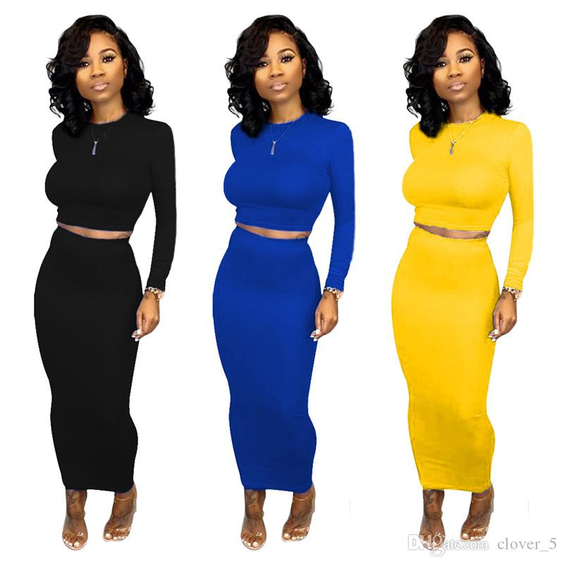 Women Two Piece Set Outfits sportswear Tracksuit long sleeve Jogging Sports pullover hoodie dresses Suits night wear hot selling klw2446