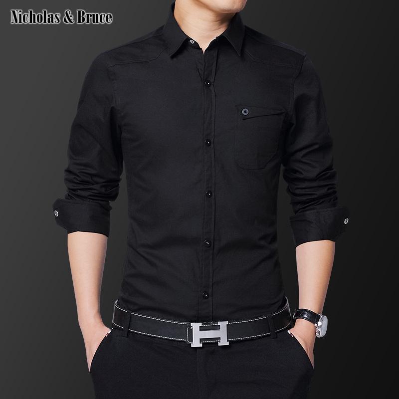 NB shirt 2020 Mens di vestito da affari camice della camicia degli uomini di modo del polsino francese T-Shirts Uomo Abbigliamento Uomo Primavera Autunno sociale camice CS19