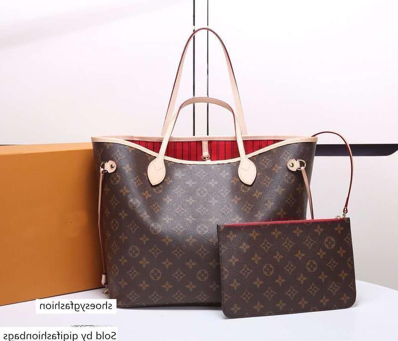 41.358 Üst kadın Neverfuull tasarımcı Kompozit çanta Canvas çanta kadın alışveriş çantası dama tahtası çanta N