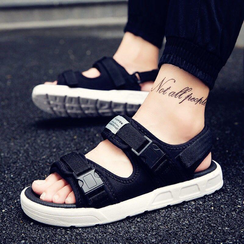 Men's Sandals Summer Slippers Men's Thick-soled Summer Beach Shoes