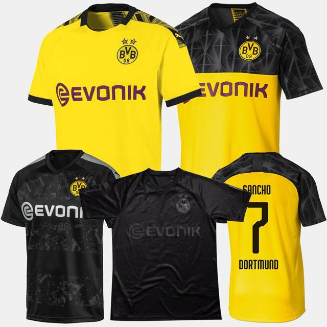 2020 110th Borussia Dortmund Kids Adult Soccer Jersey 2019 2020 Gotze Reus Brandt Hummels Jersey 19 20 Paco Alcacer Football Shirt Men Set From Soccerlead 14 73 Dhgate Com