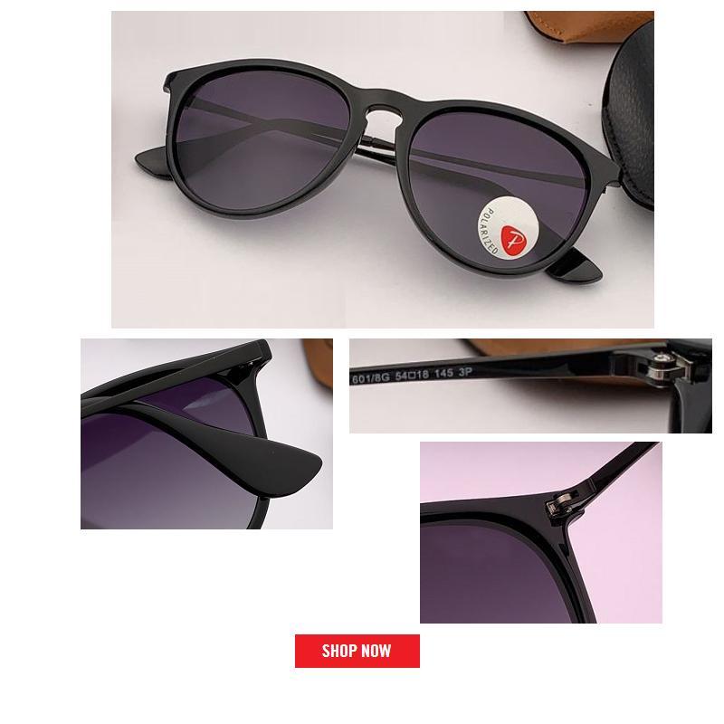 Nouvelle marque Gafas Designer Sunglasses polarisées Mâle Cadre Catégorie Soleil Soleil Sun Lunettes Verres Hommes Conduisez les nuances Revêtement Miroir Femme Fashi Nugb