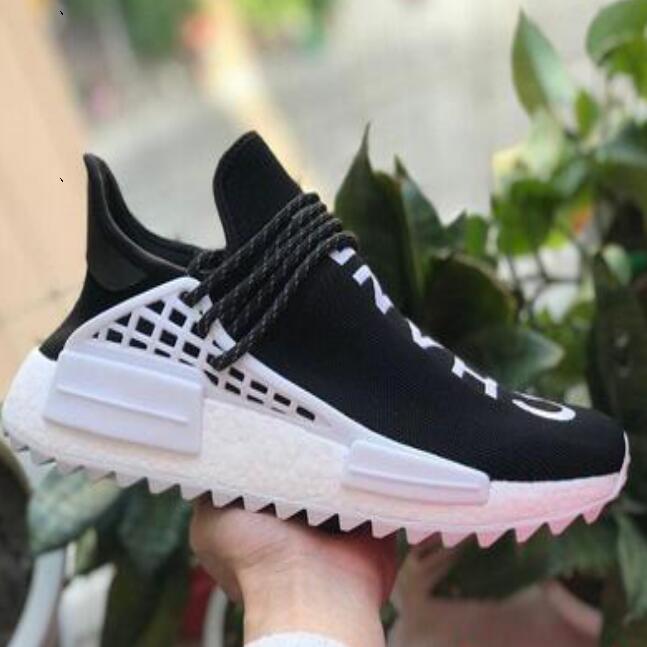 Pharrell Williams mulheres Raça Humana Races formadores para Humanrace Sports Mens sapatos atlético dos homens tênis sneakers Womens Hu