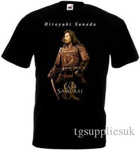 The Last Samurai v1 T-Shirt Hiroyuki Sanada schwarz Filmplakat alle Größen S 5XL