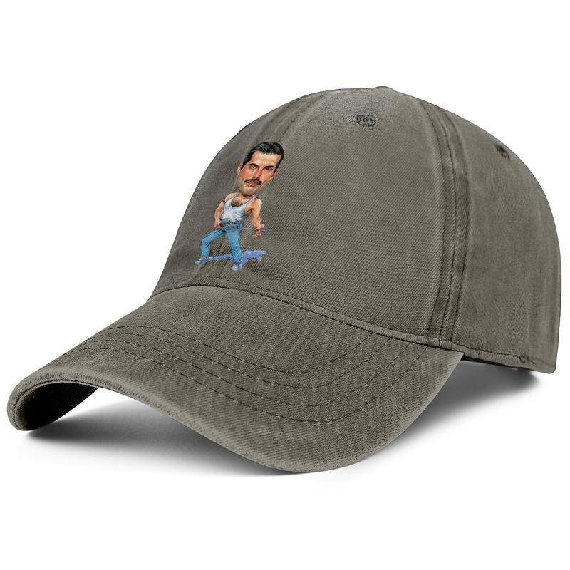 JTRVW Colorful Painting Wolf Denim Hat Adjustable Womens Great Baseball Hats