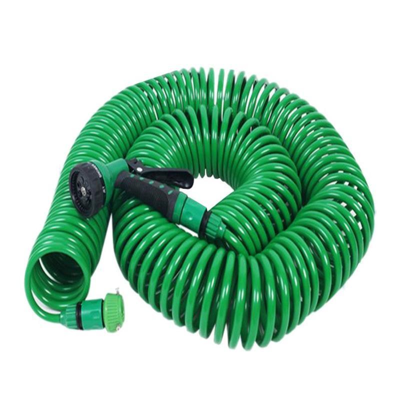 7.5m/15m/30m Expandable Garden Hose Pipe Watering Spray Gun for Car Lawn watering hose Irrigation Kit