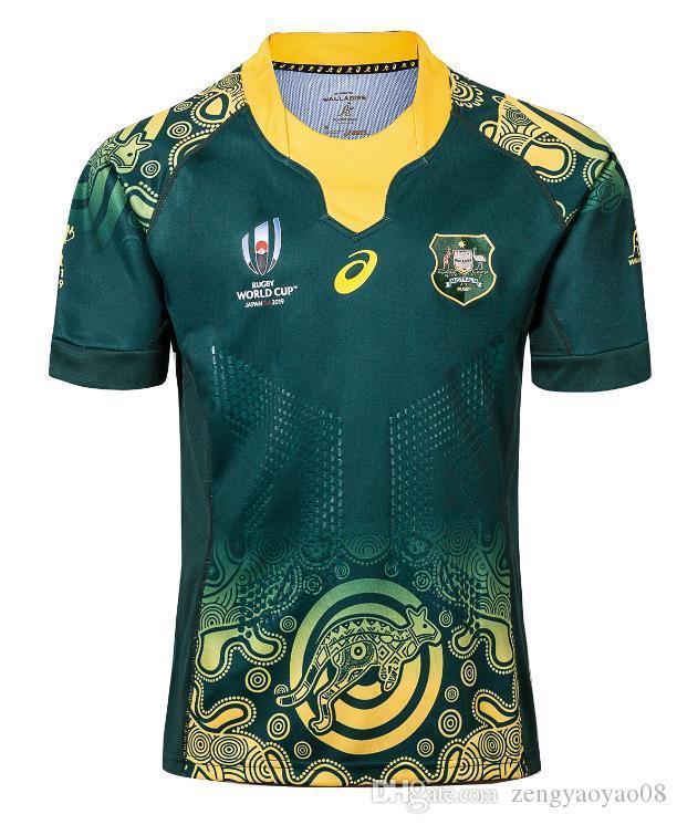 2019 2020 Australia Rugby Jersey 2019 Jersey Australian Edição Comemorativa 2017 2018 Austrália rúgbi Jerseys tamanho da camisa t S - 5XL