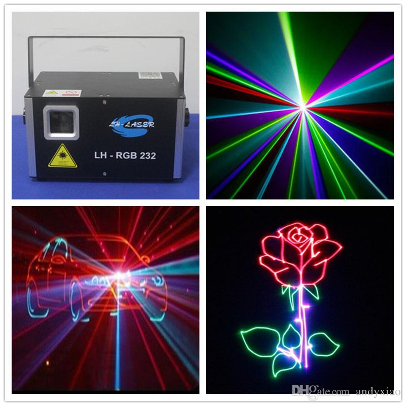 LH-RGB232 1200MW RGB 풀 컬러 아날로그 변조 애니메이션 레이저 조명 무대 및 나이트 클럽에서 완벽한 수행자