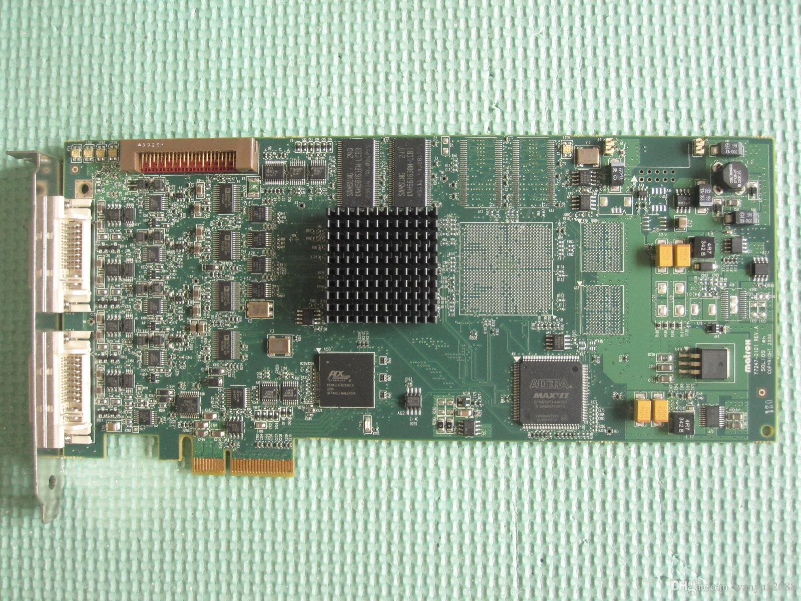100% Tested lavoro perfetto per Matrox SOL6M4AE Solios eA PCIe x4