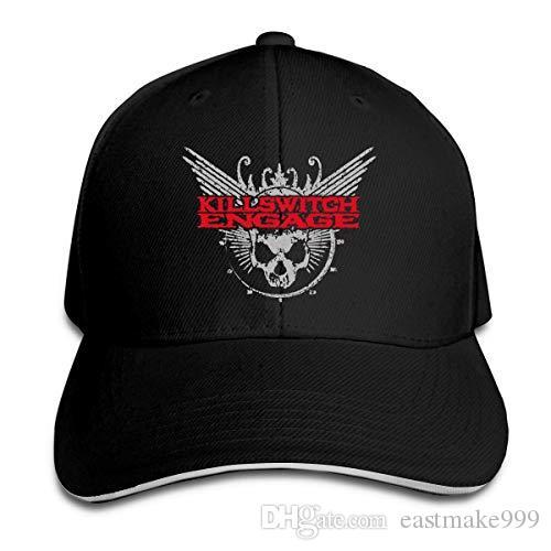 Baseball ajustável disar-t Killswitch Engage Logo Unisex Caps Esportes Ao Ar Livre Chapéu de Verão 8 cores Hip Hop Tampão cabido Moda