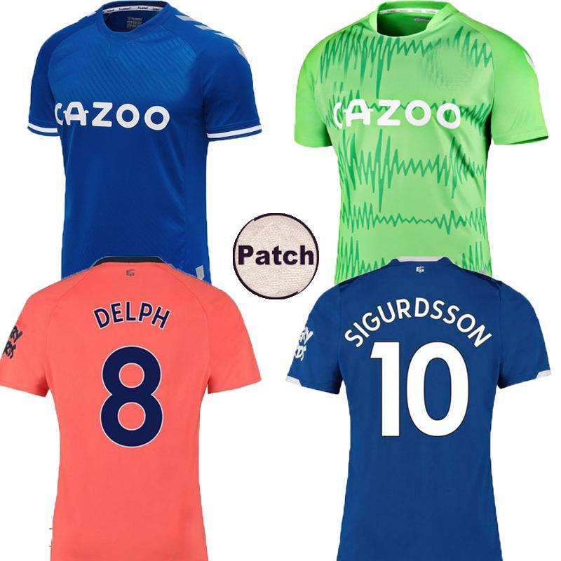 2020 19 20 21 Everton Home Away Soccer Jersey Sigurdsson Richarlison Andre Gomes Walcott 2019 2020 2021 Everton Green Goalkeeper Football Shirts From Sport538 13 77 Dhgate Com