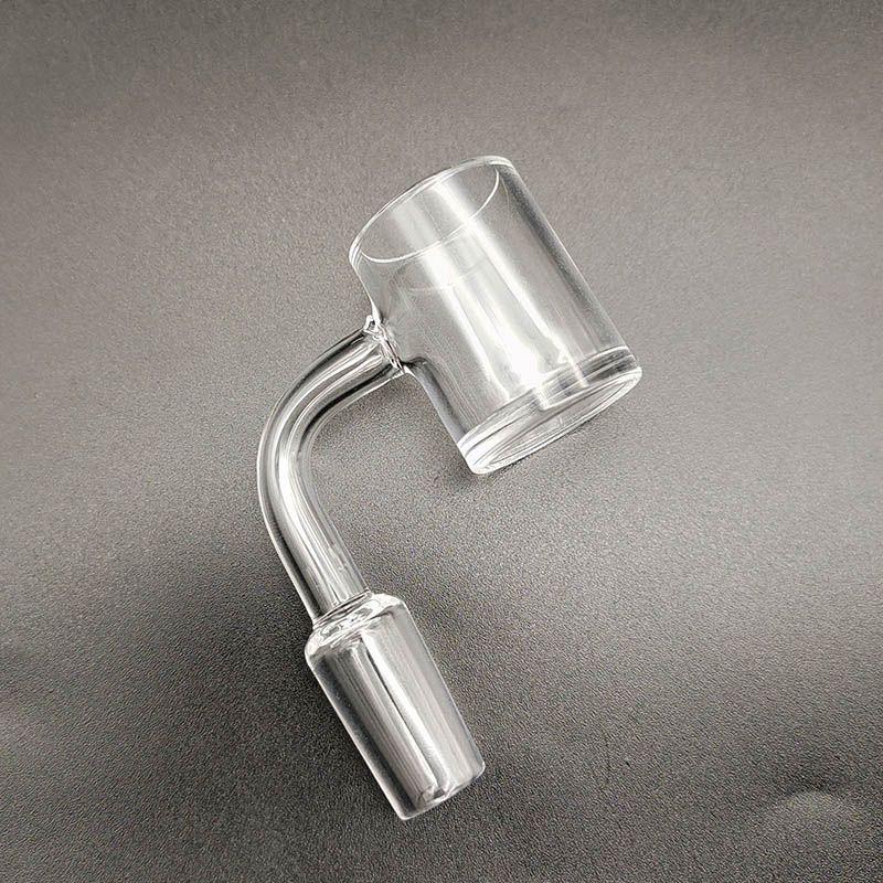Quartz Banger breaker bong 10mm 14mm 18mm male female 90 Degrees 4mm Thick Quartz Nail For Glass Bong