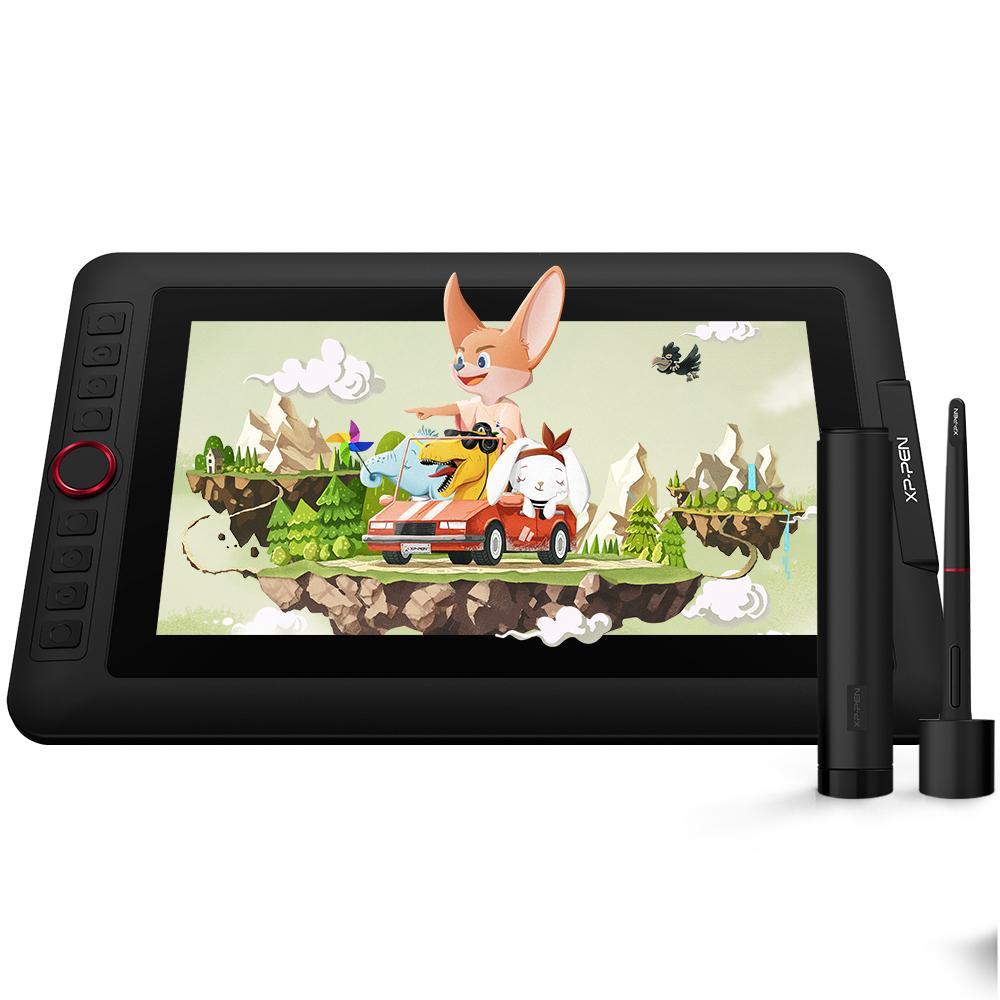 XP-Pen Artsit 12 Pro 11.6 дюймов Цифровые IPS Рисование Монитор Pen Дисплей Графический планшет с ярлыками ключей для ноутбука ПК