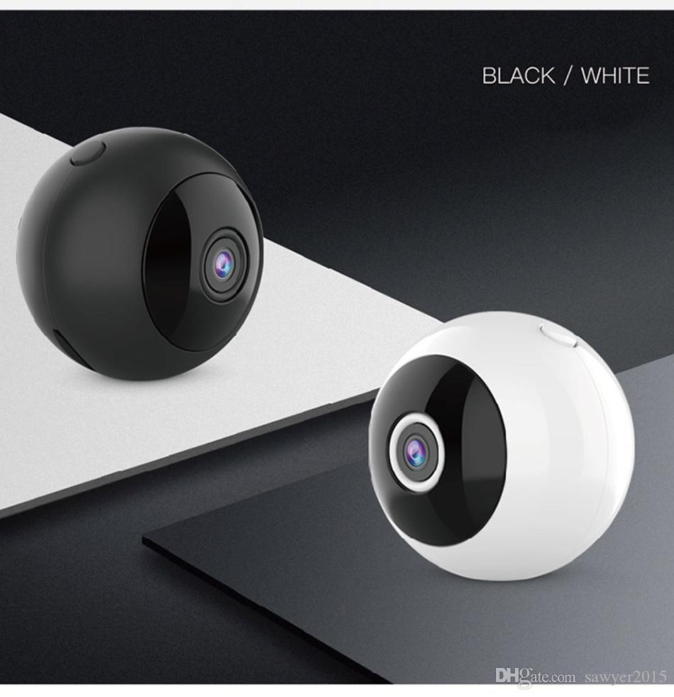 W8 HD Mini Cámara WiFi P2P Cámara IP HD 1080P Visión nocturna Deportes DV Videocámara Detección de movimiento DVR Cámara de vigilancia de seguridad para el hogar