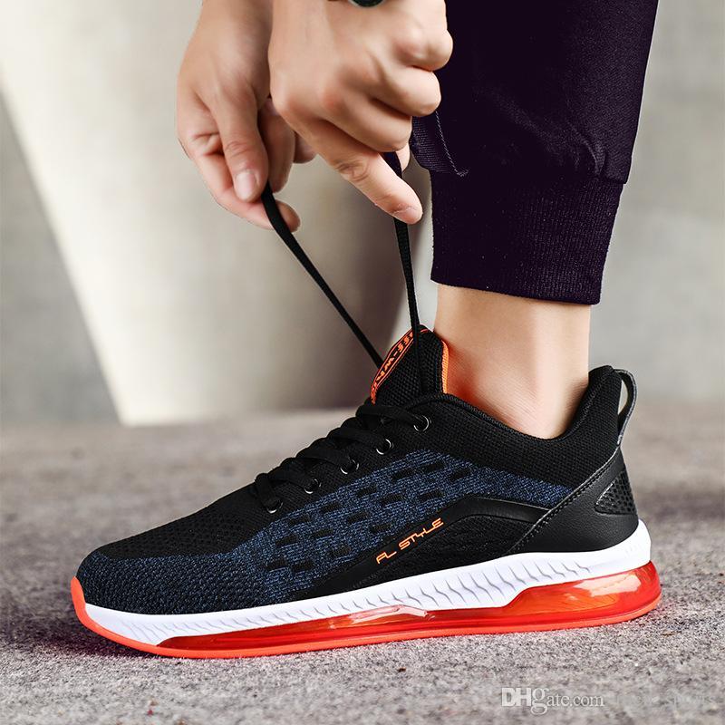 Scarpe per le donne Mens preparatori atletici di sport che eseguono Red Men moda nere che eseguono formatori di design delle scarpe da tennis Eur 39-44 157A