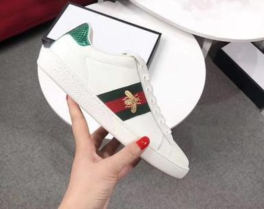 Großhandel Designer Casual Sneaker Homme Y4 Tiger 2019 Bee Von Mode Weiße Aus ChaussuresAce Leder Bestickt Echtem Frauen rdxoQBWCeE
